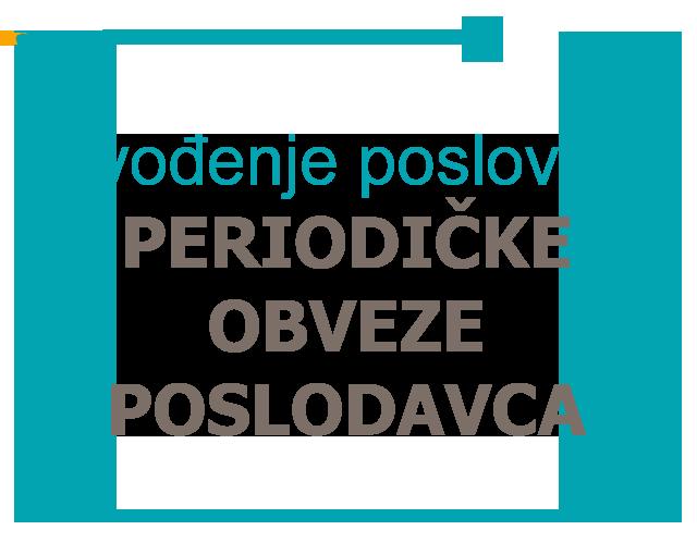 Praćenje zakonskih promjena i periodičkih obveza